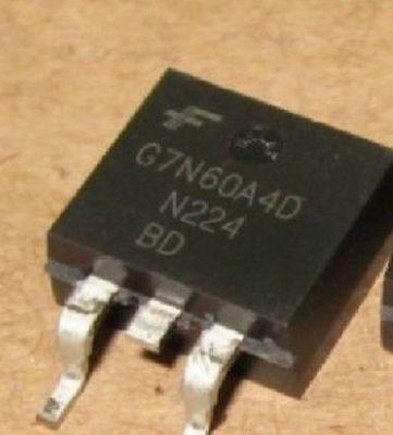 10PCS nuevo G7N60A4D Original FAIRCHILD G7N60A4D TO-263