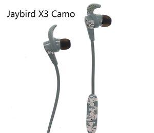 b22a7d6e73f Jaybird X3 Sport Wireless In-Ear Headphones Camo Used Good👌 | eBay