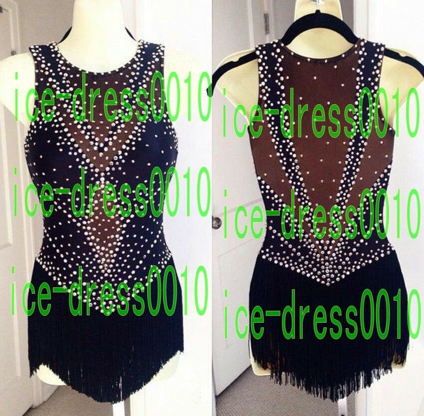 2018 new style Figure Skating competition Dress Ice Skating Dress 8996