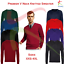 Premier-Mens-Long-Sleeve-V-NECK-Knitted-Sweater-Formal-Office-Work-Wear-Jersey thumbnail 1