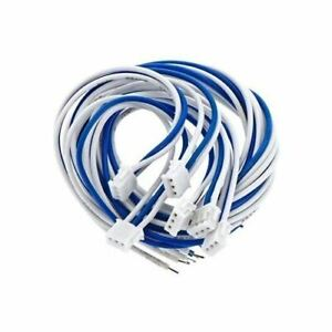 MRC-025100-Light-Genie-3-Pin-Mini-Male-Connector-w-Leads-6pk