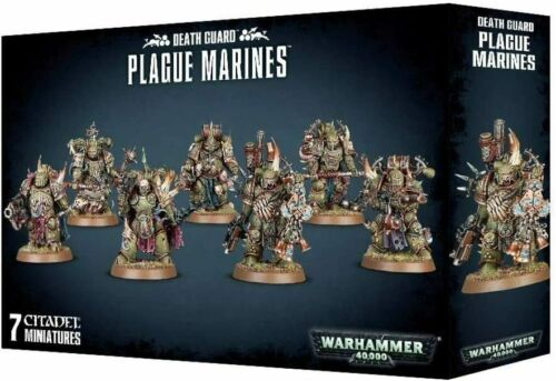 Plague Marines Warhammer 40k Death Guard