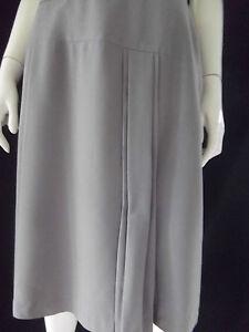 KAMIKO-Womens-Grey-straight-Skirt-size-12-BNWT