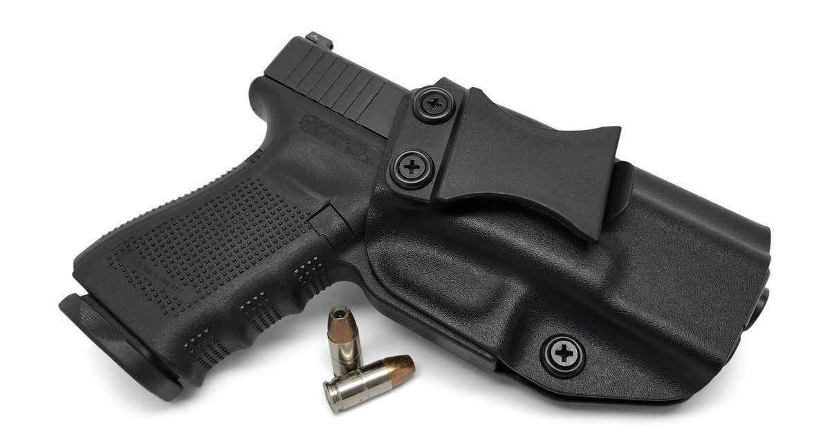 IWB INSIDE WAISTBAND Gun Holster Holster Gun Kydex w/ Belt Clip For EAA Witness Compact 62b2d0
