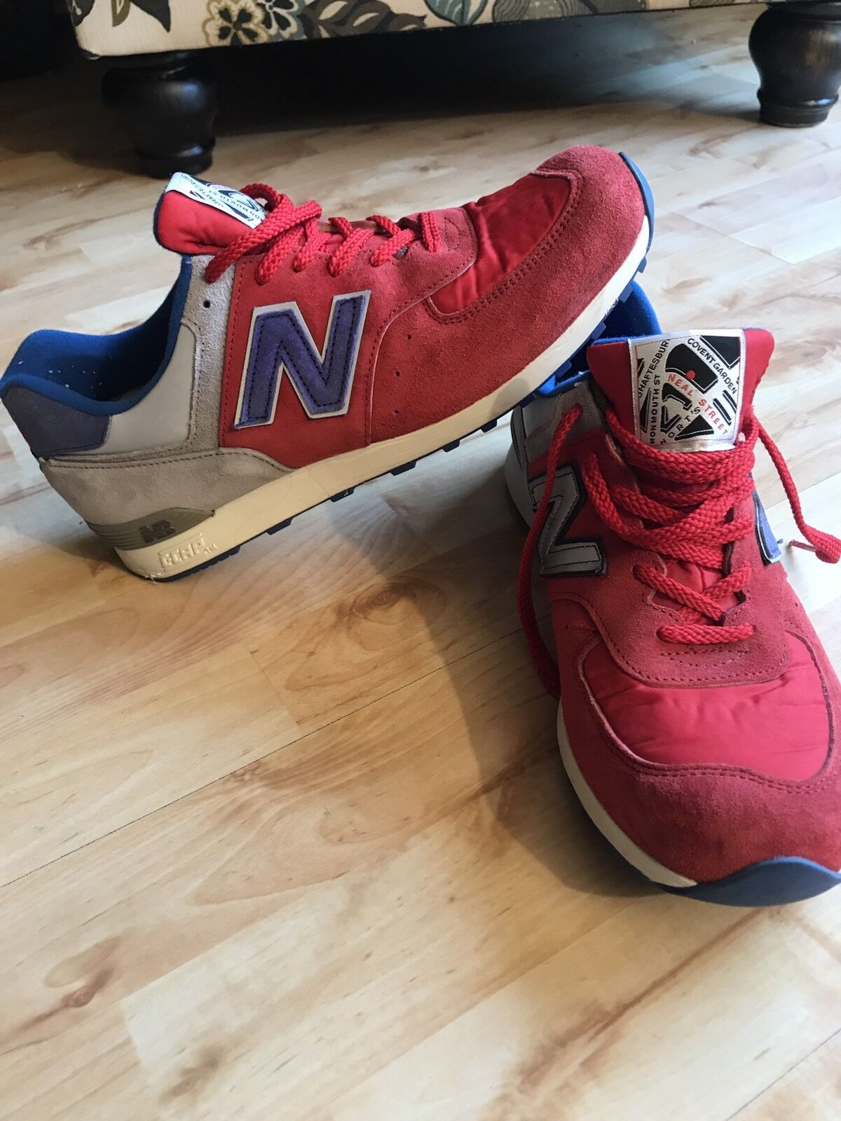 New Balance X Offspring Collab 576 M576OCG 10.5 Made In England Covent Garden