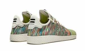 13c731e3ebfb Adidas Originals Men s PHARRELL WILLIAMS TENNIS HU PK Shoes CQ2631 ...