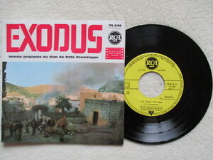45T-7-034-ERNEST-GOLD-034-Exodus-Soundtrack-Otto-Preminger-034-RCA-75-646