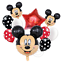 Disney-Mickey-Minnie-Mouse-Birthday-Foil-Latex-Balloons-Blue-Pink-Number-Sets thumbnail 18