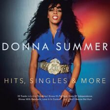 Hits, Singles & More by Donna Summer (CD, May-2015, 2 Discs, Music Club Deluxe)