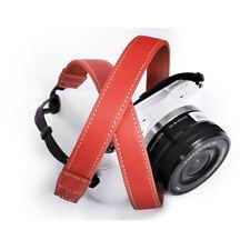 MATIN LAFFINITA 20 (red) Shoulder Neck Leather D-SLR RF Mirrorless Camera Strap
