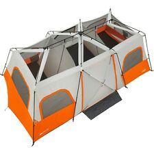 14 person tent base camp cabin ozark trail 4 room camping family