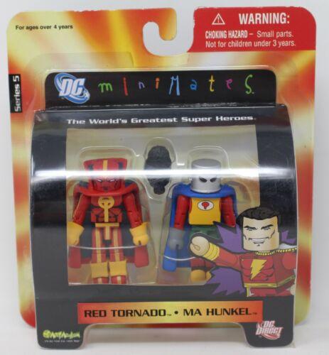 DC Direct Minimates Wave 5 Red Tornado et ma Hunkel Art Asylum