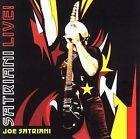 Satriani Live! by Joe Satriani (CD, Oct-2006, 2 Discs, Epic/Red Ink)