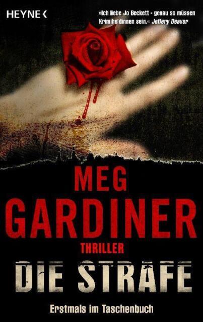 Die Strafe  Meg Gardiner  Thriller Taschenbuch++Ungelesen++
