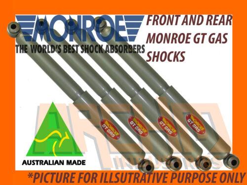 CHRYSLER-VH-VJ-VK-CL SEDAN /& WAGON FRONT /& REAR MONROE GT GAS SHOCK ABSORBERS