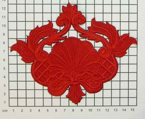 Embroidered Swirls//Flourishes//Gothic//Art Nouveau//Deco//Floral Motif Applique SW3