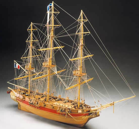 Mantua Models Astrolabe French Corvette Wooden Ship Kit 1 50 Scale