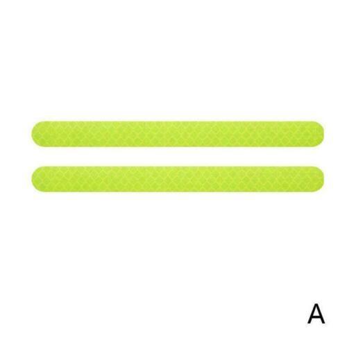 2PCS SET Auto-Rückspiegel-reflektierende Aufkleber-warnender Auto-reflekt K1X9