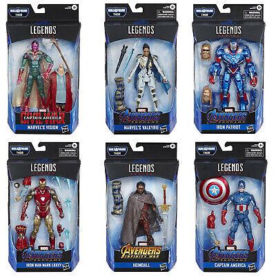 """THOR BAF Marvel Legends 6/"""" Avengers mossa finale WAVE 3-IRON MAN MARK 85"""