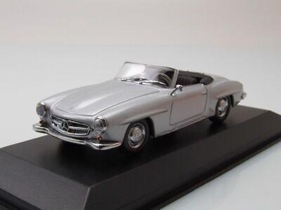 w121 B ii 1955 plata maqueta de coche 1:43 maxichamps Mercedes 190 sl cabrio