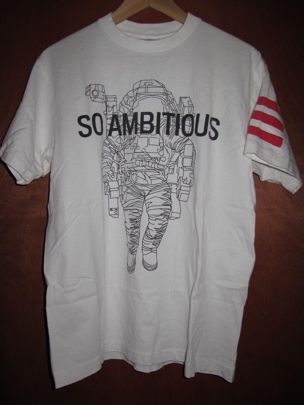 RARE BBC Billionaire Boys Club So Ambitious T-Shirt Blauprint 3 Jay-Z Größe M