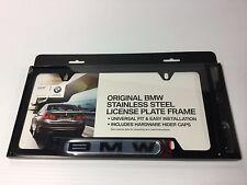 BMW Black License Plate Frame 82120010398