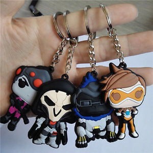 Details About Overwatch Game Keychain Tracer Reaper Ow Key Chains Blizzard Entertainment