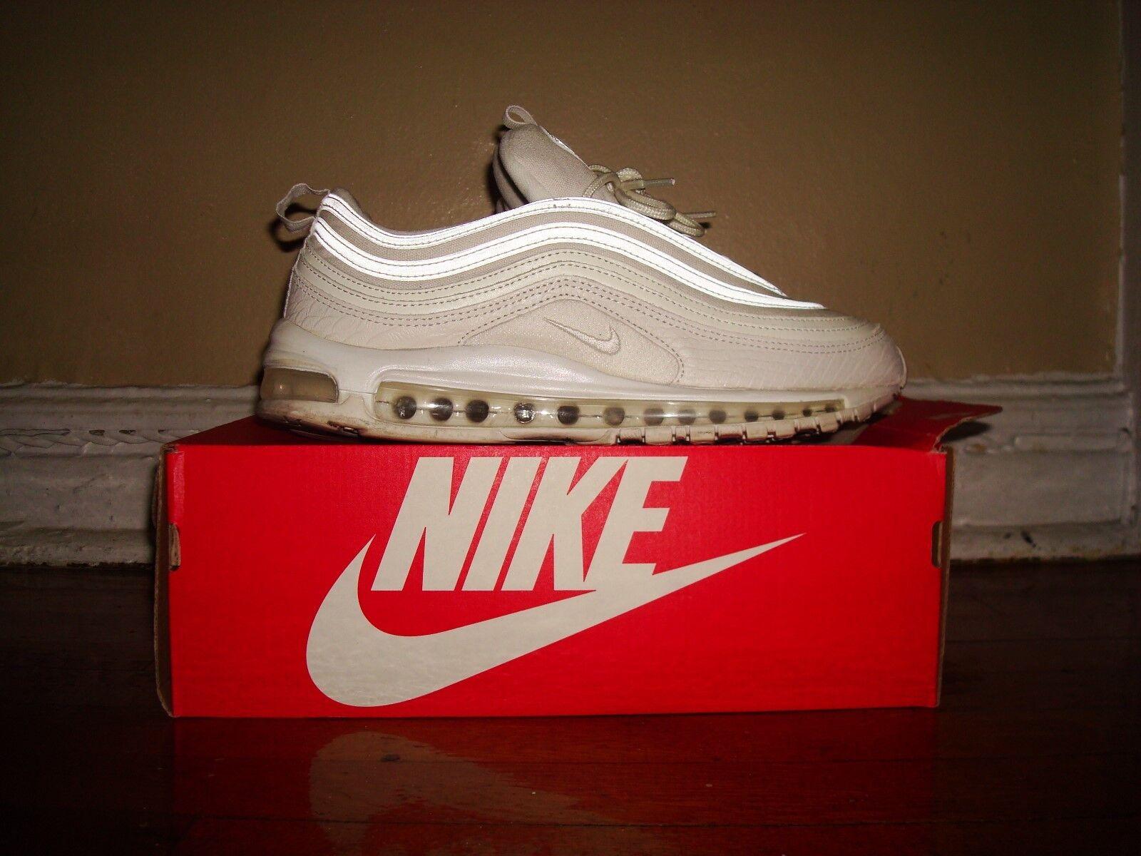 Nike Air Max 97 Snake blanc Skin/ US 10.5/ Summit blanc Snake / 921826 100 fe3ba5