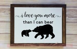 I-Love-You-More-Than-I-Can-Bear-Wall-Stickers-Nursery-Animal-Prints-Baby-Decor