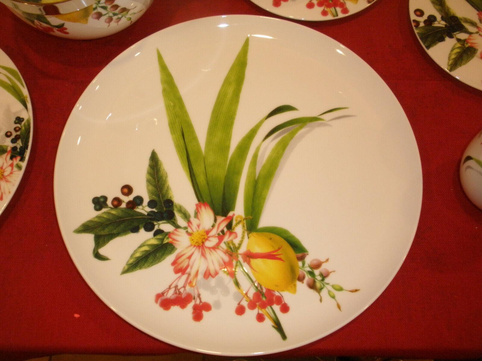 Rosanthal Brillance Les Fruits du Jardin    Teile z Wahl  Teller Tassen Schüsseln | Ausgezeichnete Leistung  e54670
