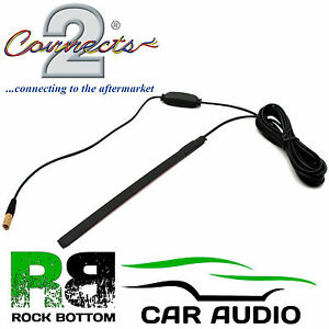 BLAUPUNKT-Car-Radio-Stereo-Glass-Mount-Discreet-Patch-DAB-SMB-Aerial-Antenna