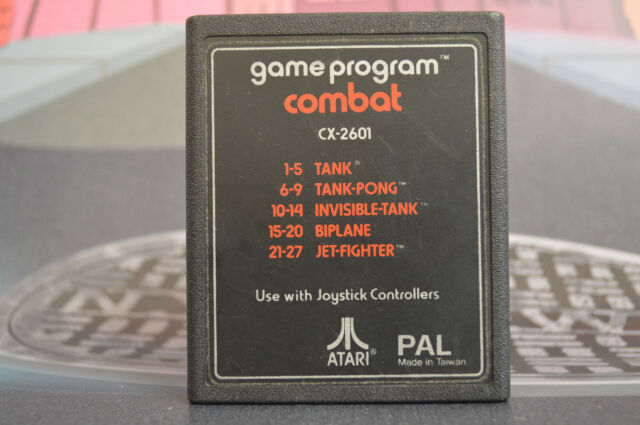 GAME PROGRAM COMBAT CX-2601 ATARI