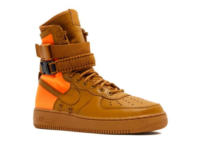 huge selection of e63f0 13c11 Men Nike Air Force 1 SF Af1 QS 903270-778 Desert Ochre Size 10.5