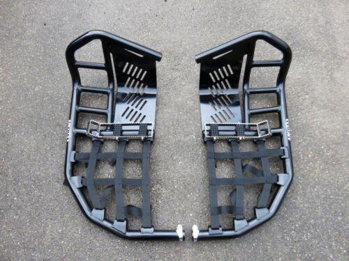 YAMAHA YFZ 350 Banshee PRO SX NERF BARS con heelguards Nero