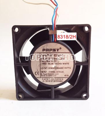For 1pc EBM-PAPST MULTIFAN 8318//2H Equipment fan 48V 3pin 80*32mm