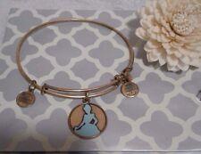 Alex and & Ani Disney Enamel Princess Cinderella Gold Bangle Bracelet Rare