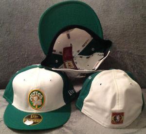 Image is loading Boston-Celtics-New-Era-59FIFTY-Fitted-Hat-Hardwood- 48fa7121ec3