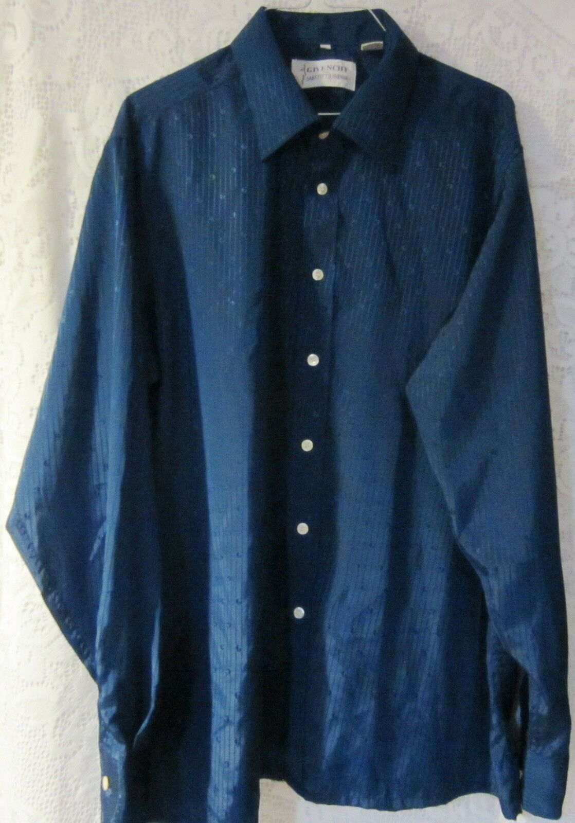 GIVENCHY For Saks Fifth Avenue mens  Button Up  G pattern shirt Größe XL