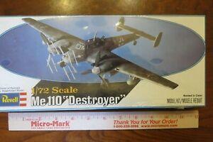 Revell-Me-110-Zerstorer-Destroyer-Nightfighter-1-72-scale-model-H-95-sealed-NIB
