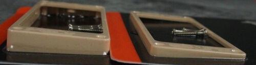 Gibson Cream Pickup Rings Set Les Paul Creme Humbucker w//pick Genuine