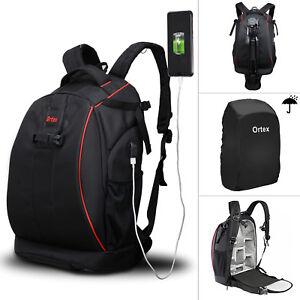 Digital Camera Backpack Bag Waterproof Case Cover SLR DSLR for Canon Nikon Sony 611165981679