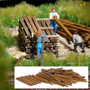 Real-Wooden-planks-and-beams-OO-HO-accessories-Busch-1129
