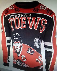 NEW-Chicago-Blackhawks-Jersey-Sweater-jonathan-toews-medium-gorgeous-nhl-m-mens