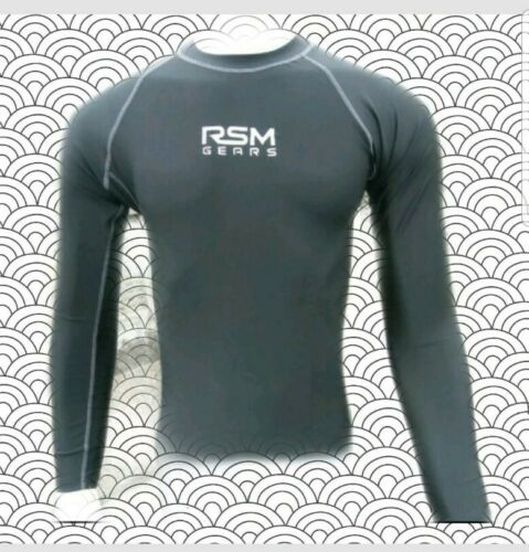 RSM GEARS MEN COMPRESSION FULL SLEEVE JERSEY S,M,L,XL,XXL SPECIAL OFFER CLEARANC