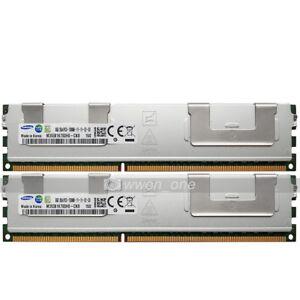 Samsung-16GB-2x8GB-2Rx4-PC3-12800R-DDR3-1600Mhz-240Pin-ECC-REG-Server-Memory-RAM