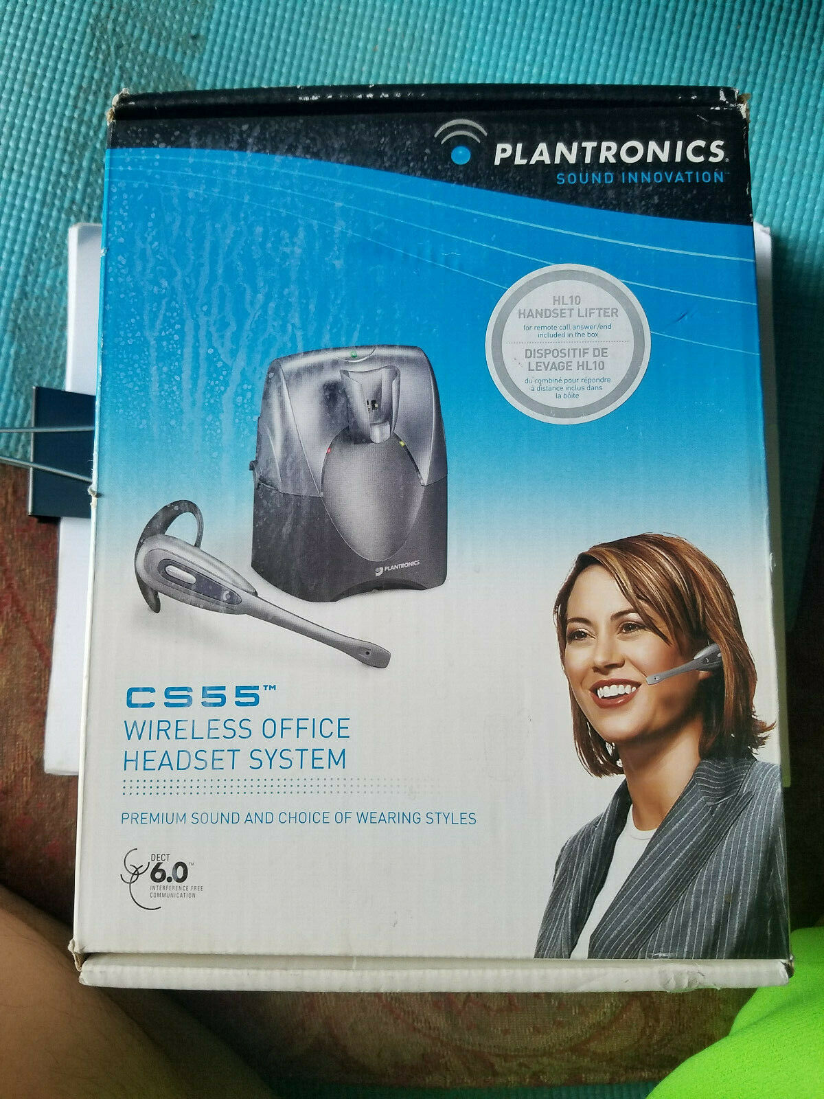 Plantronics CS55 Wireless headset system HL10 Lifter  Complete Package