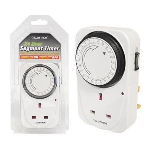 Lloytron A1206 mécanique segment sécurité plug timer15 min intervalle de 24 heures de nouvelles