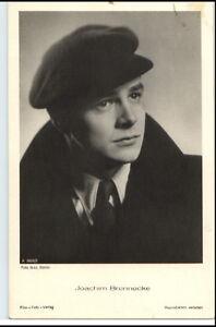 JOACHIM-BRENNECKE-um-1950-60-Portraet-AK-Film-Buehne-Theater-Schauspieler