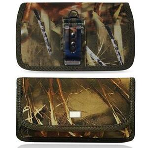 For-IPhone-11-Pro-Max-Horizontal-Nylon-Canvas-Pouch-Belt-Clip-Loop-Camouflage