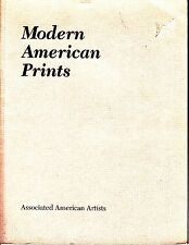 Modern American Prints Associated American Artists Catalog 1990 with Price List